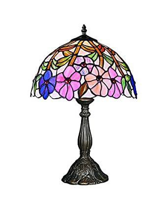 Lampsbuyer Large Size Tiffany Style Flowers And Leaves