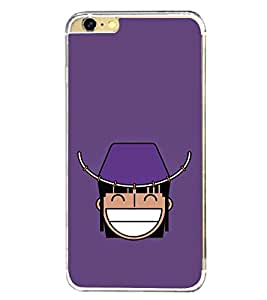 Funny Cartoon 2D Hard Polycarbonate Designer Back Case Cover for Apple iPhone 6s Plus :: Apple iPhone 6s+