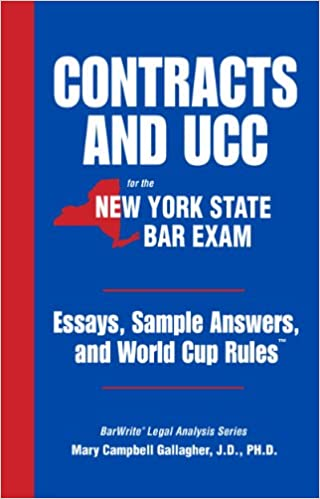 ny bar exam essay scoring The first uniform bar exam in ny takes place this july find out the difference between the ny bar exam and the ube, so you will know what to study.