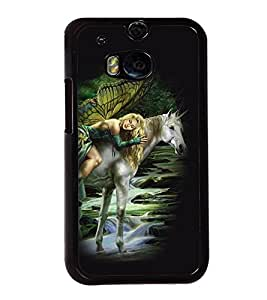 printtech Unicorn Angel Back Case Cover for Huawei Honor 7 Enhanced Edition; Huawei Honor 7 Dual SIM with dual-SIM card slots