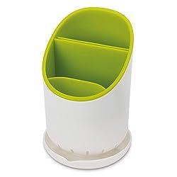 Inovera Kitchen Drainer Strainer Organizer Storage Sink Spork Spoon Cutlery Holder(Green)