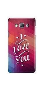 Casenation I Love You Vibrant Samsung Galaxy A5 Matte Case