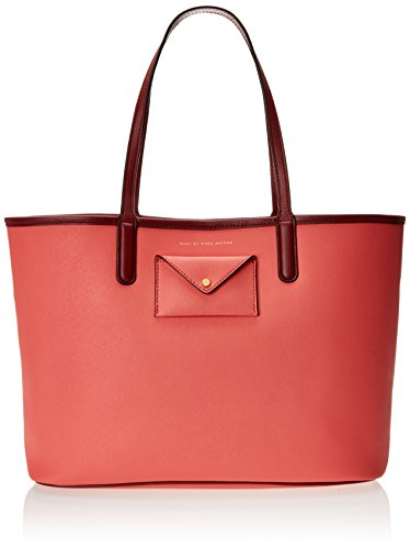 Marc by Marc Jacobs Metropolitote Colorblocked 48 Shoulder Bag, Rose Bush, One Size