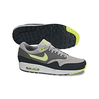 Nike Air Max 1 Essential - Dusty Grey / Volt-Cool Grey-Black, 7.5 D US