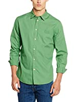 Trussardi Jeans Camisa Hombre (Verde)
