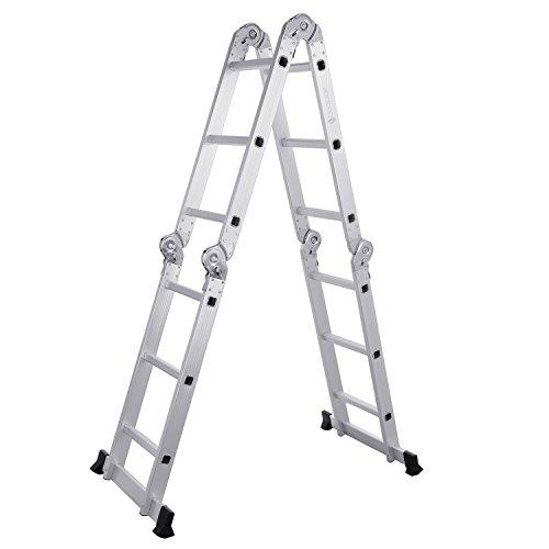 leapair-125ft-3x4-heavy-duty-multi-purpose-folding-step-ladder-aluminum-en131