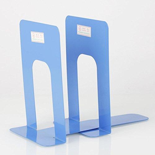 Great Value Desk Accessories 2Pcs Book Storage Holder Magazine Rack Blue