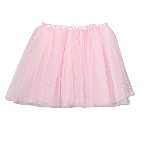 Toddler & Girl Light Pink Chiffon Tutu 11 inch