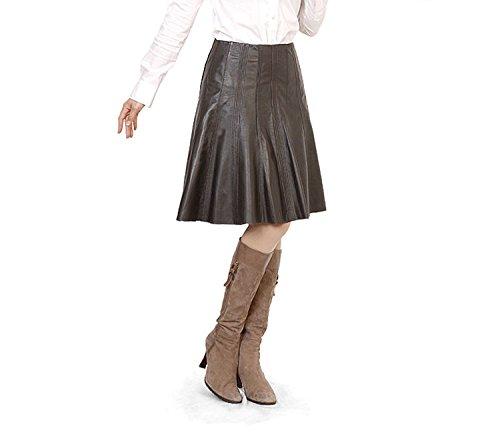 Amazon.co.jp: ソフト ラム レザー フレア スカート (No 5061 r ) 〔エースタイル〕 Aastyle: 服&ファッション小物通販