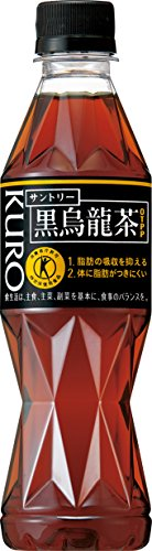[Tokuho] Suntory black oolong tea 350mlPET×24 book