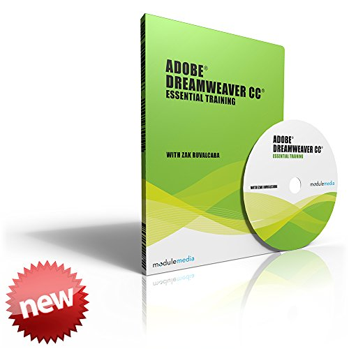 Adobe Dreamweaver - Creative Cloud (Cc) - Essential Training - Dvd - By Zak Ruvalcaba