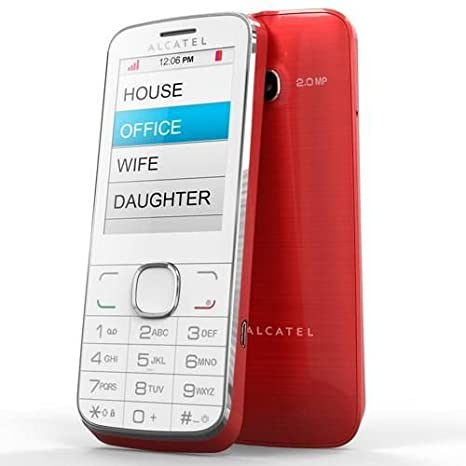 T�l�phone GSM ALCATEL ONE TOUCH 2005D ROUGE