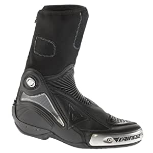 Dainese Axial Pro In Leather Boot (Euro 43/ US 10, Black/Black)