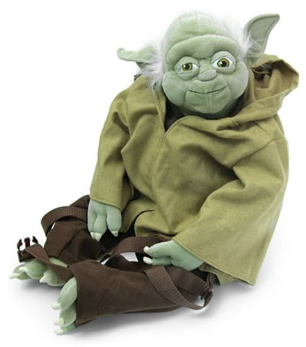 Plush Yoda Buddies Backpack