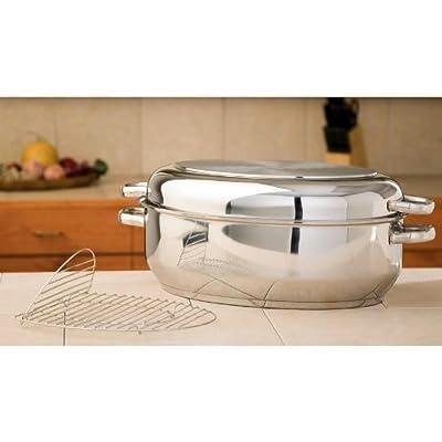 Precise Heat Multi-Baker / Roaster with Wire Rack