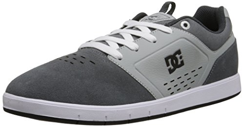 DC Men's Cole Signature Skate Shoe, Grey, 6 M US
