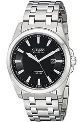 Citizen Men's BM7100-59E Corso Eco Drive Stainless Steel Dress Watch