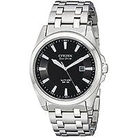 Citizen BM7100-59E Corso Eco Drive Men's Dress Watch (Stainless Steel)