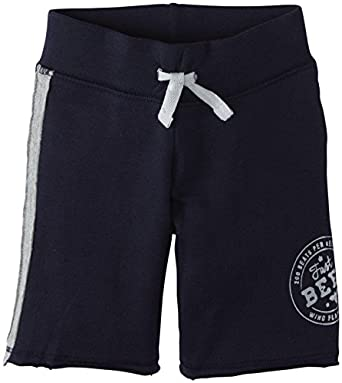 Burt's Bees Baby Baby Boys' Racing Stripe Shorts (Baby) - Midnight