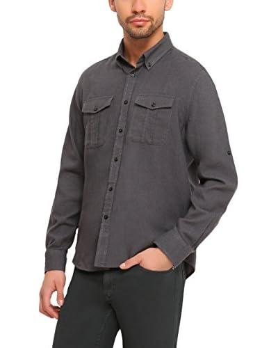 TOP SECRET Camicia Uomo [Grigio]