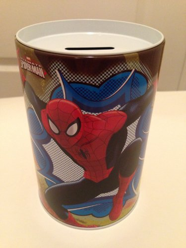 Spider Man Coin Bank for Kids - SPIDEY - 1
