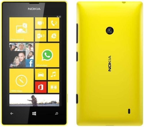 Nokia Lumia 520 Unlocked Gsm Windows 8 Os Cell Phone - Yellow