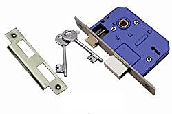ATOM Armour-2 Mortise Door Lock, Double Stage Locking