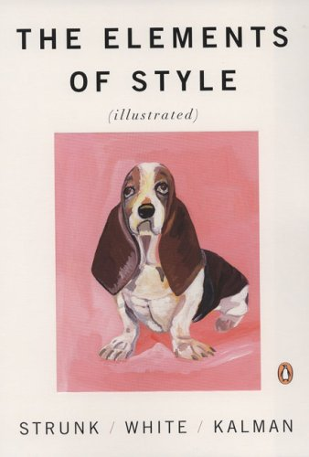 Elements of Style (Illustrated) from Amazon.com