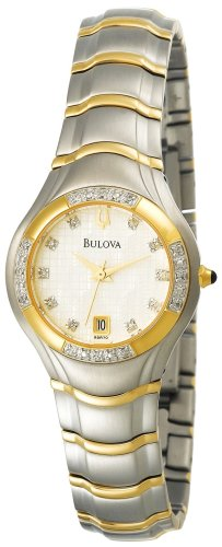 Bulova Women's 98R70 Diamond Accented Watch