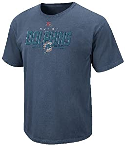 Miami Dolphins Vintage Roster II T Shirt by VF-Pigment Blue from VF