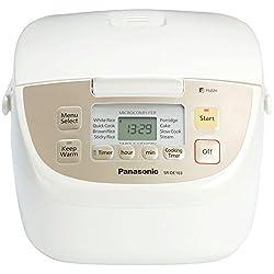 Panasonic SR-DE103 5-Cup (Uncooked) Fuzzy Logic Rice Cooker