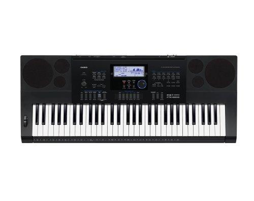 Casio Ctk6200 61-Key Personal Keyboard With Power Supply