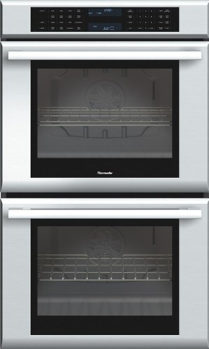 Thermador MED302JS Double Masterpiece Oven, True Convection Upper plus Lower, 30 in. 3Xt Racks (30 Oven Rack compare prices)