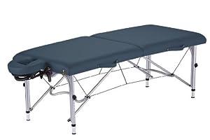 Earthlite Luna Portable Massage Table Package, Mystic Blue