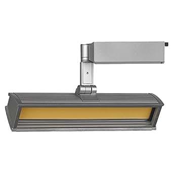 Lightolier Alcyon LED Track Light Flood 3500k Bright White Light Color LLF3