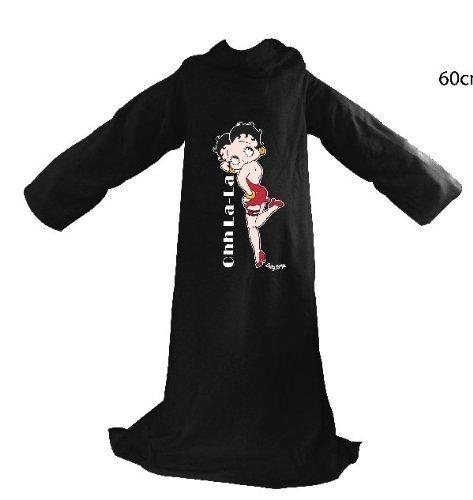 Betty Boop - Coperta da adulti con maniche, motivo: Betty Boop