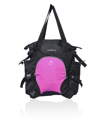 obersee-innsbruck-changing-bag-tote-with-cooler-black-pink