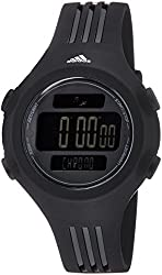 adidas Unisex ADP6086 Questra Digital Watch with Black Polyurethane Band