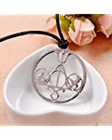 OPCC The Novel Classic Movie Necklace Mix the Mortal Instruments /Hunger Games Divergent/ Percy Jackson/ Harry Potter silver white color