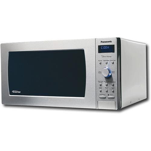 Panasonic Nn-Sd987Sa - 1250 Watts 2.2 Cu. Ft. Full-Size Microwave - Stainless Steel