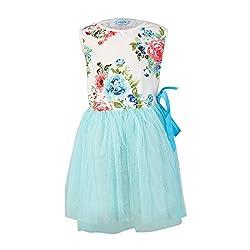Pikaboo Floral Harmony Dress - Blue