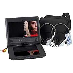 Audiovox DS9106PK 9Inch LCD Swivel Display Portable DVD