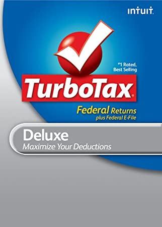 TurboTax Deluxe Federal + e-File 2010 [Download] [OLD VERSION]