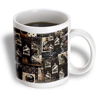 Mug_123187_1 Florene Gothic - Gothic Crows Birds N Skulls - Mugs - 11Oz Mug