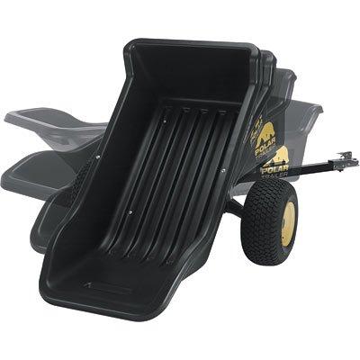 Polar Sport Off-Road ATV Trailer - 1500-Lb Capacity 22 Cu Ft Model 8233B0000CEYVT
