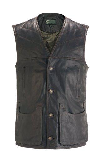 G010 : Gilet / Shooting Vest Dark Brown, Large