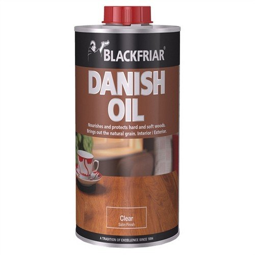Blackfriar Danish Oil Clear 1ltr