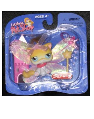 Buy Low Price Hasbro Littlest Pet Shop Exclusive Single Pack Figure Faerie Kitten (B000HVVY0C)