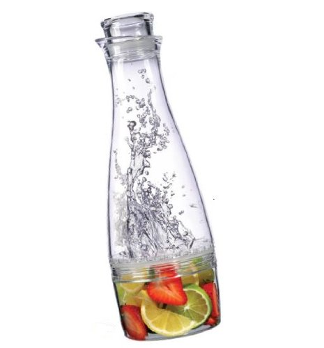 Prodyne Fruit Infusion Carafe, Clear