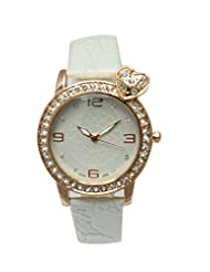Like Diamond Heart Analog Watch - For Girls, Women